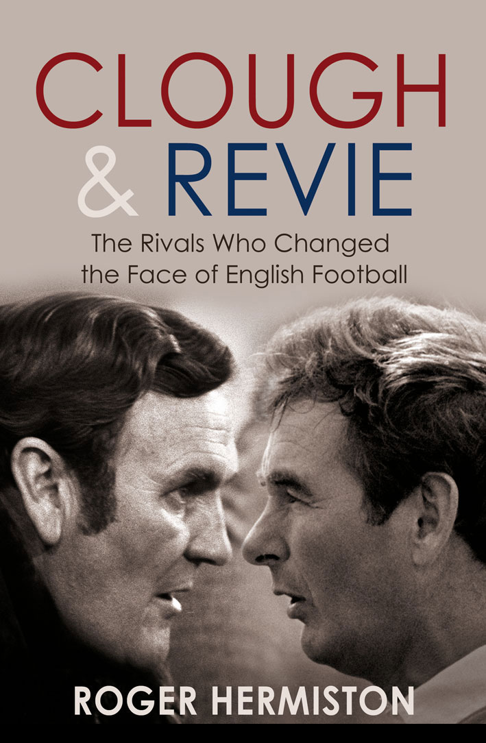 The Clough and Revie book cover
